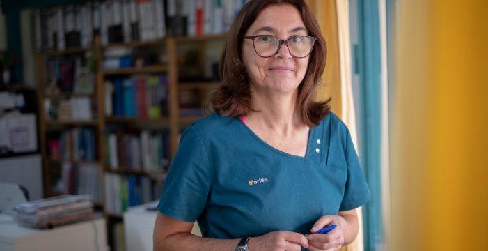 """María Luisa Fernández, presidenta del Colegio de Veterinarios: """"Somos los únicos sanitarios sin vacunar"""""""