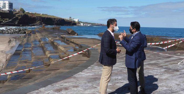 El Cabildo prevé que las obras del dique de Bajamar comiencen este verano