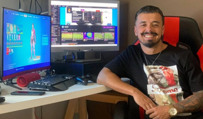 El 'streamer' tinerfeño Miguel Hernández Alayón. DA