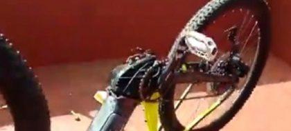Detienen al autor del robo de una bicicleta híbrida de la Policía local de La Laguna