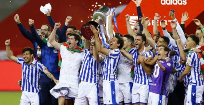 La Real Sociedad se proclama campeón de Copa ante el Athletic Club (0-1)