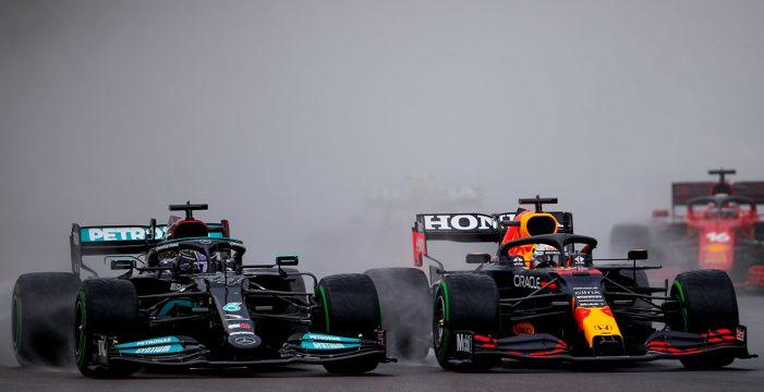 Verstappen arrasa en el caos de Imola, con Sainz quinto y Alonso undécimo