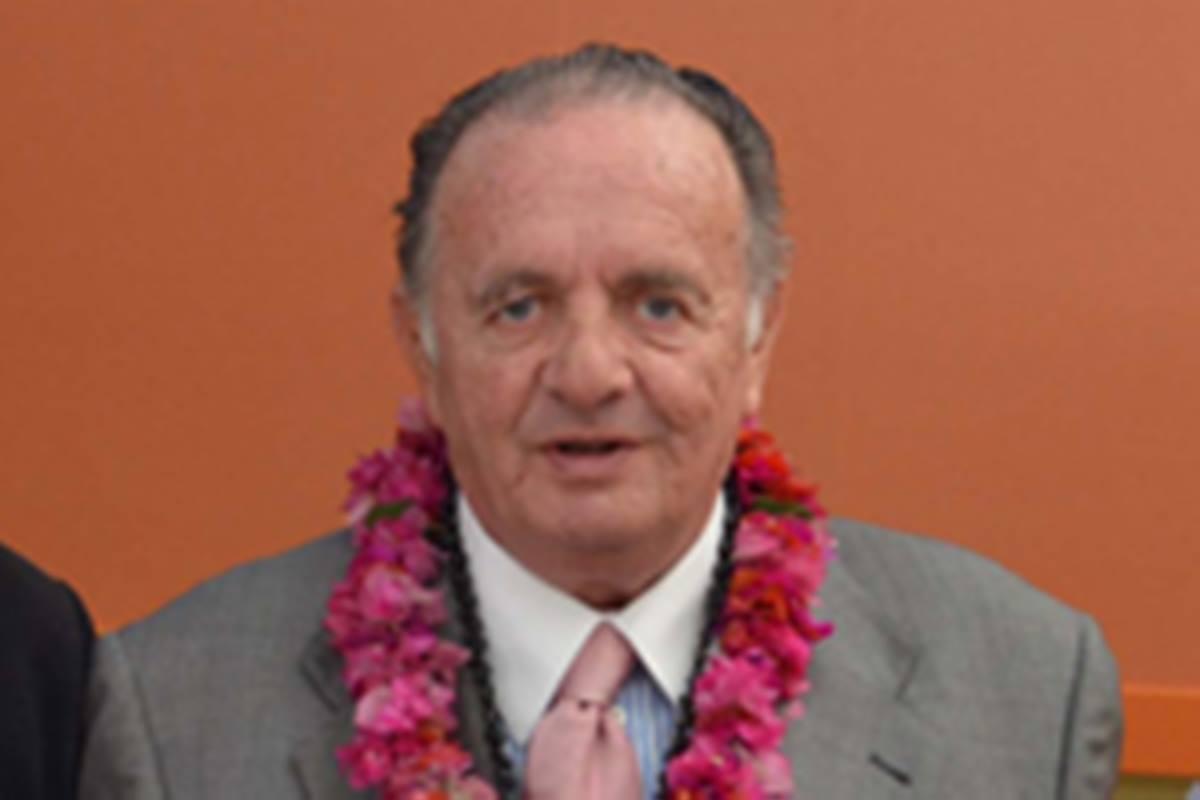 Falleció el empresario Pedro García-Sanjuán. Chile.Gob