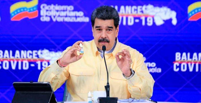 """Las """"gotas milagrosas"""" de Maduro contra el coronavirus solo sirven como enjuague bucal"""