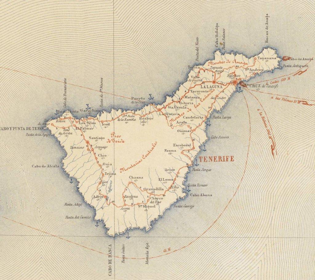 Mapa militar de 1872 (correspondiente a la etapa del sexenio Revolucionario)