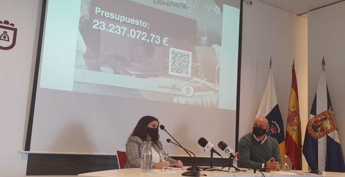 Candelaria sube un 6% el Presupuesto y anuncia dos modificaciones de crédito