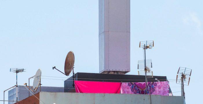 Urbanismo suspende la instalación de una antena de telefonía en Taco