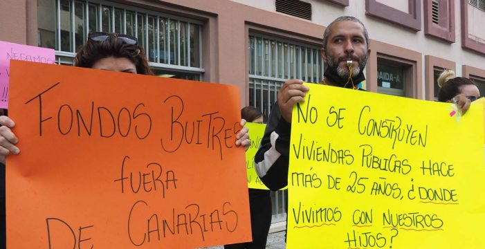 La supuesta moratoria no evita desahucios a diario por todo Tenerife