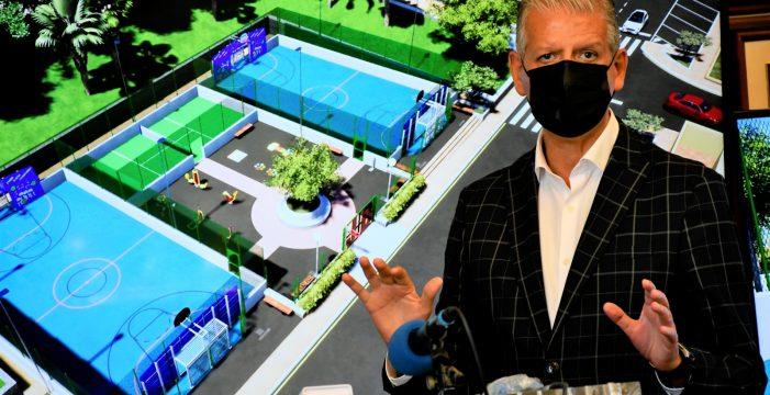 El centro urbano de La Orotava contará con un parque lúdico-deportivo