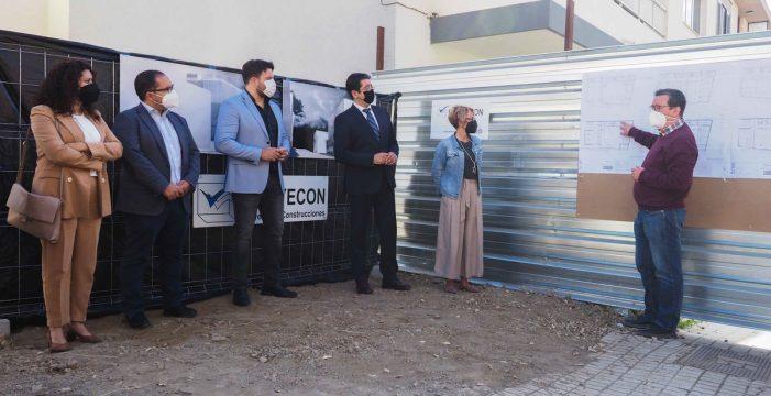 Reinicio de las obras de la oficina comarcal de empleo de Güímar