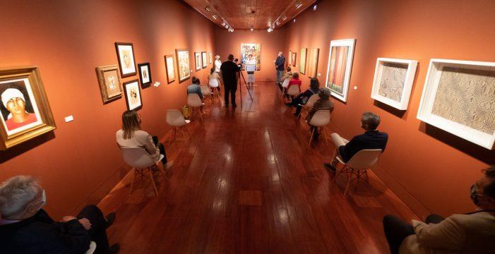 La Laguna muestra medio siglo de creación artística de Felo Monzón
