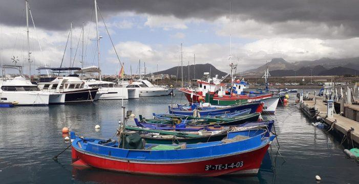Un homenaje con todas las letras a los pescadores de Las Galletas