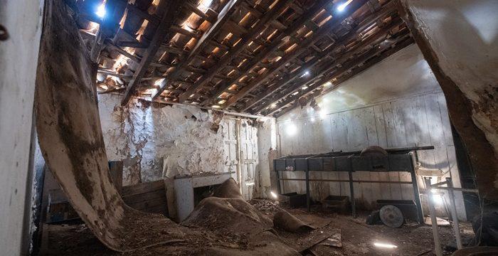 SOS para el viejo molino gofio de Tacoronte