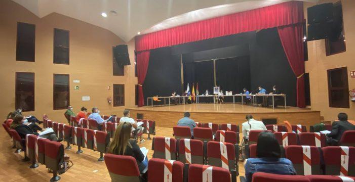 El Pleno de Arona 'aparca' las obras y Mena advierte de indemnizaciones millonarias