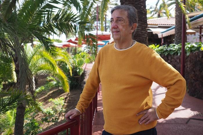 """Pedro Gómez Barreto es natural del Puerto de la Cruz, pero actualmente vive en La Orotava y es """"ramblero de corazón"""", municipio en el que residió durante 22 años y trabajó otros 33. Sergio Méndez"""