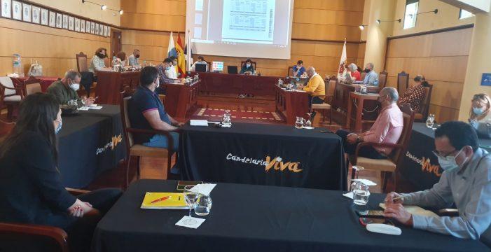 Aprobación inicial del Presupuesto de Candelaria solo con los votos socialistas