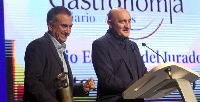 Toño Pérez, de Atrio, recibe el Gran Premio del Arte en la Cocina