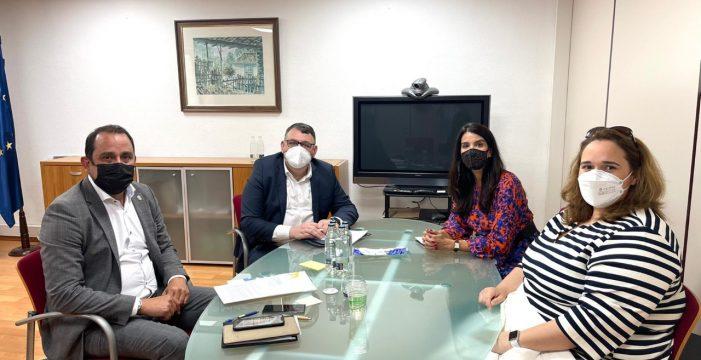 Faconauto Canarias aborda con el nuevo viceconsejero de Economía del Gobierno de Canarias la complicada situación del sector