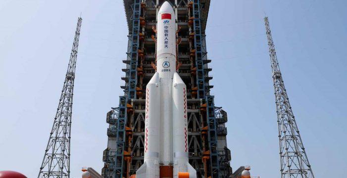 El cohete chino caerá en la Tierra y un tuitero tinerfeño 'vaticina' dónde será