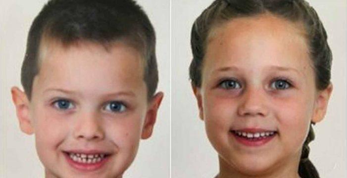 Leonardo y Stephanie: su madre se los llevó hace cuatro meses