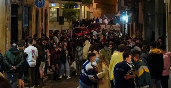 Sábado de botellones en toda España: miles de desalojados, cientos de denuncias y dos detenidos