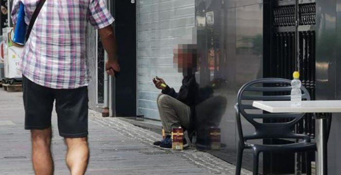 """Preocupación en Los Cristianos por el aumento de indigentes: """"Un núcleo sin ley"""""""