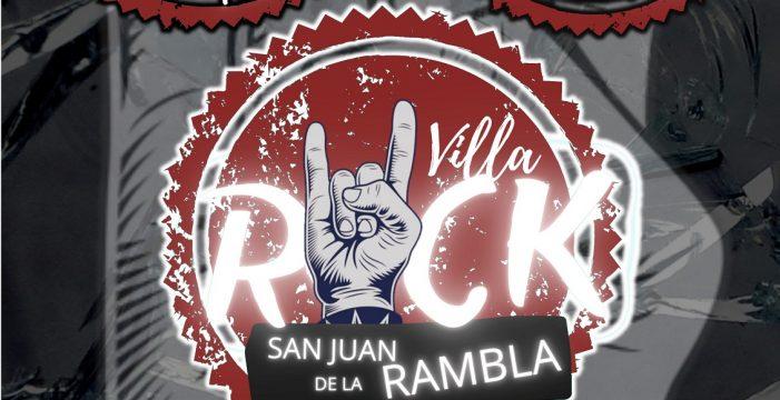 San Juan de la Rambla programa el sábado la primera edición de su Villa Rock