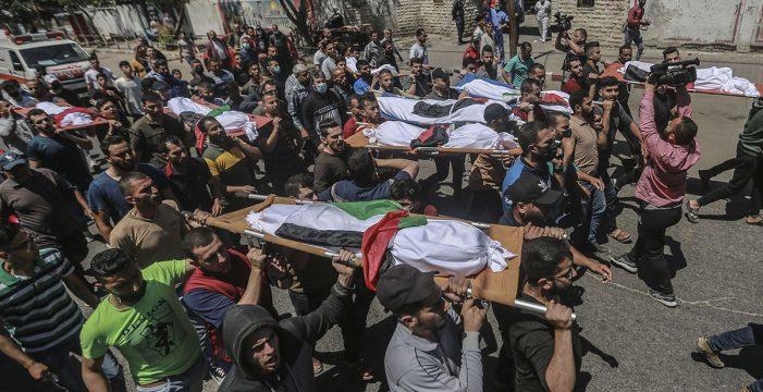 Ya son casi 200, 55 de ellos niños, los palestinos muertos en la ofensiva israelí sobre Gaza