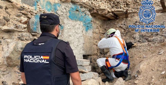 Rescatan a un niño de 13 años de un búnker en Gran Canaria