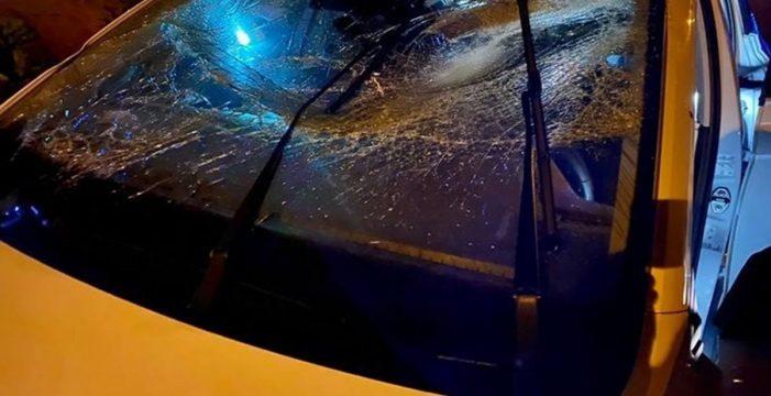 Vuelca el coche y se va dejando heridos a otros dos ocupantes