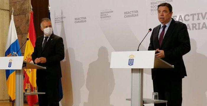 El ministro Planas garantiza los 268 millones del Posei para Canarias