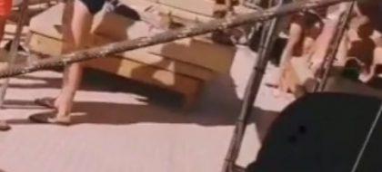 Difunden en redes las imágenes de una fiesta ilegal en un barco en Gran Canaria