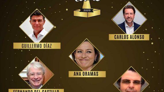 Ana Oramas, Carlos Alonso y Díaz Guerra, nominados a los Premios Tolete 2020