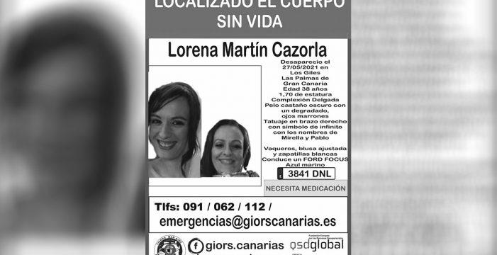 Hallan el cuerpo sin vida de Lorena Martín, que había desaparecido en Gran Canaria