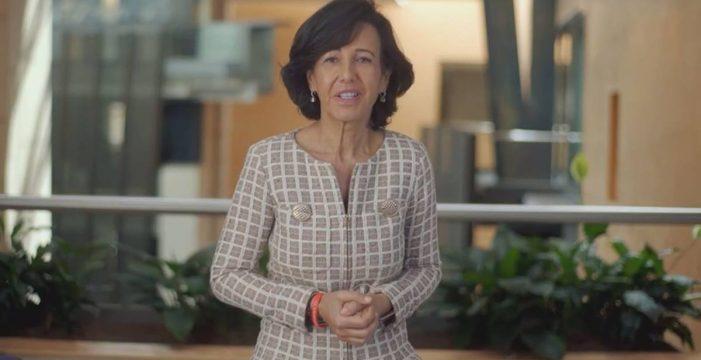 """Ana Botín: """"El futuro de España y de nuestros hijos depende de que salvemos a las pymes"""""""