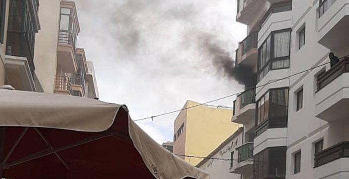 Heridos una mujer y un bebé en el incendio de una vivienda en Lanzarote
