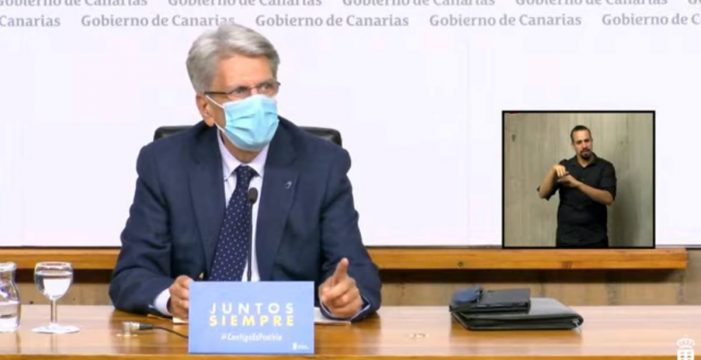 """Julio Pérez: """"Queda sin efecto el toque de queda en Canarias"""""""