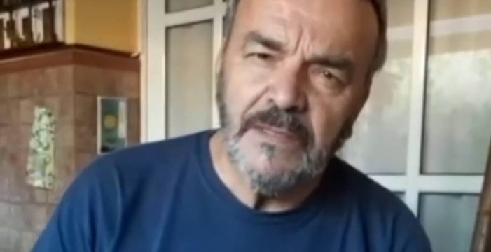 Pepe Benavente manda un mensaje en vídeo a Tomás Gimeno, el padre de las niñas desaparecidas en Tenerife