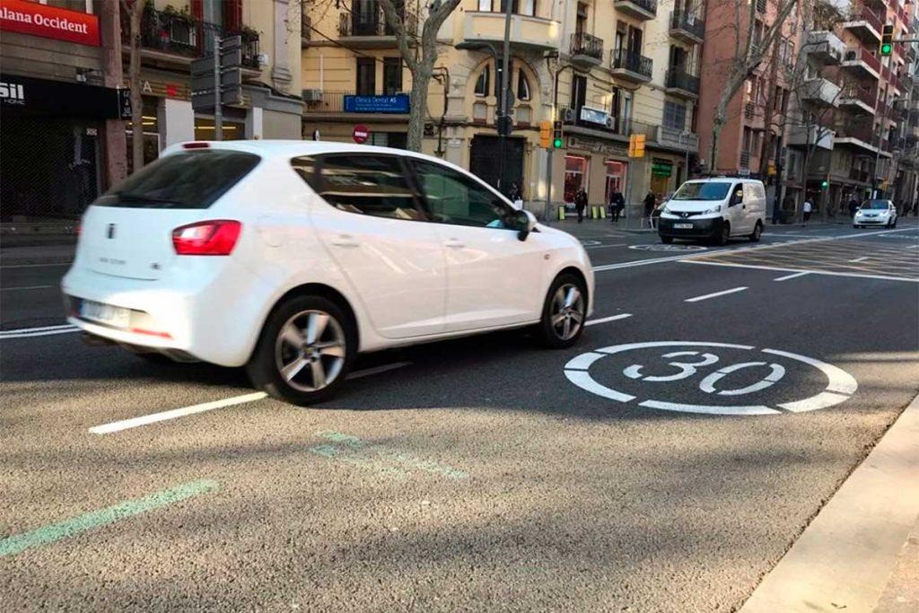 Nuevos límites de velocidad en ciudades