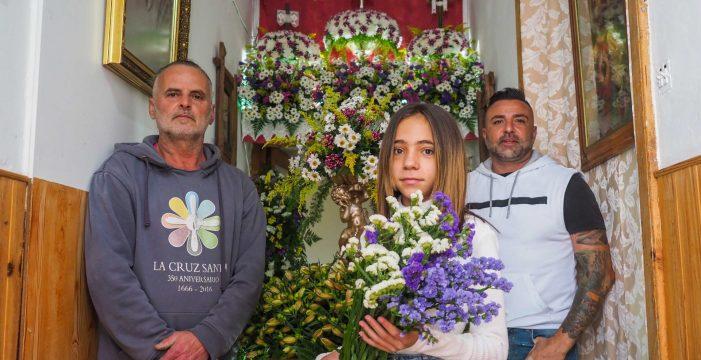 Las cruces de mayo también se adaptan a la pandemia en Los Realejos