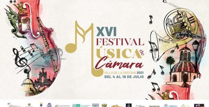 La Orotava se reencuentra con su Festival de Cámara del 4 al 18 de julio