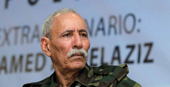 El líder del Polisario abandona España esta noche