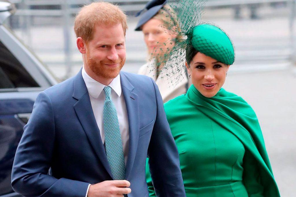 El príncipe Harry y su esposa Meghan Markle. Europa Press