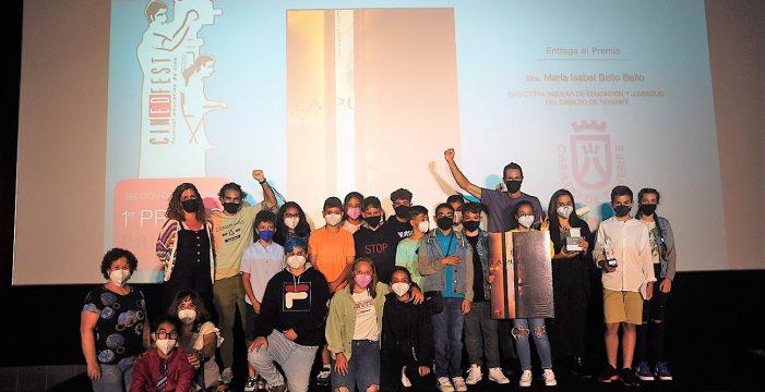 El CEIP Capellanía del Yágabo, de Lanzarote, obtiene el primer premio de Primaria de Cinedfest 8 con 'La puerta'