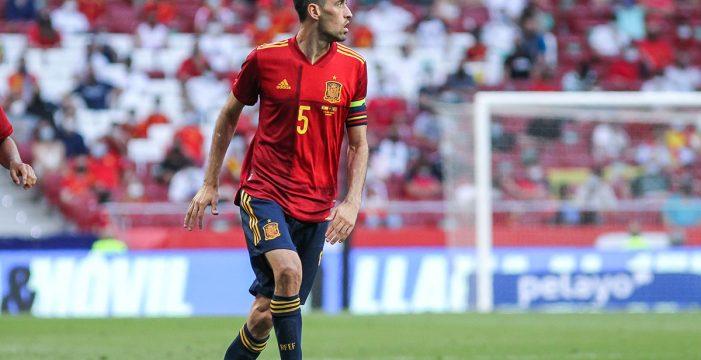 Sergio Busquets, positivo por coronavirus a una semana de la Eurocopa