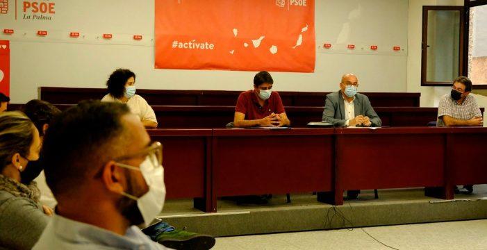 El PSOE de La Palma suaviza la crisis y tratará de reconducir su alianza con el PP