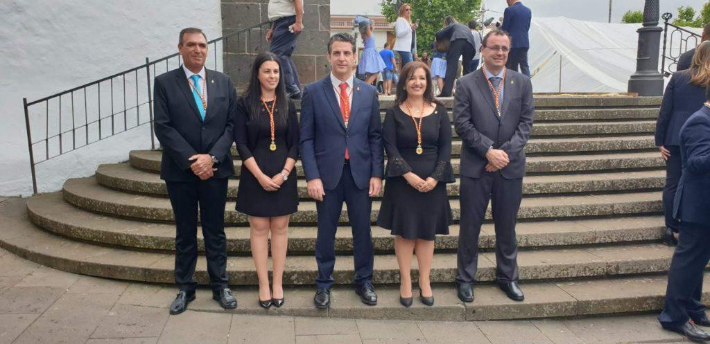 De los cinco ediles del PSOE en el Consistorio solo se les abrió expediente a Sandra Ramos y a Carlos Medina. DA