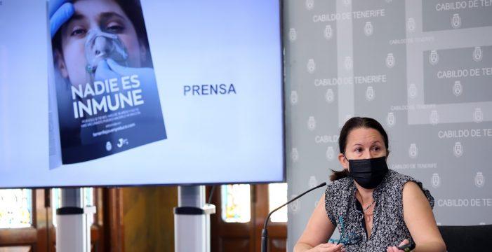 El Cabildo de Tenerife anima a los jóvenes a vacunarse con una campaña