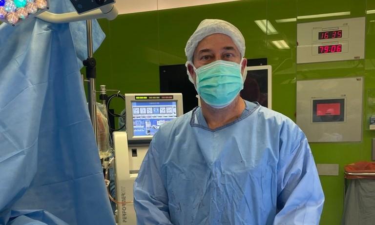 """Norberto Santana: """"Nuestro tratamiento con ozono espera prolongar la supervivencia de los pacientes tras un trasplante de pulmón"""""""