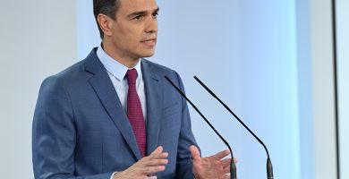 """Pedro Sánchez: """"Las administraciones están preparadas para actuar en La Palma"""""""